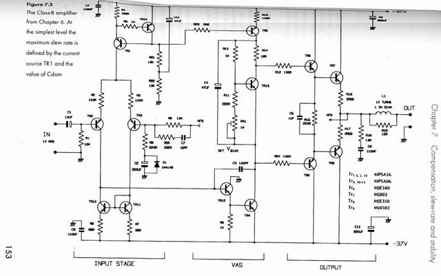 The Design of Car Audio Power Amplifier - schematic