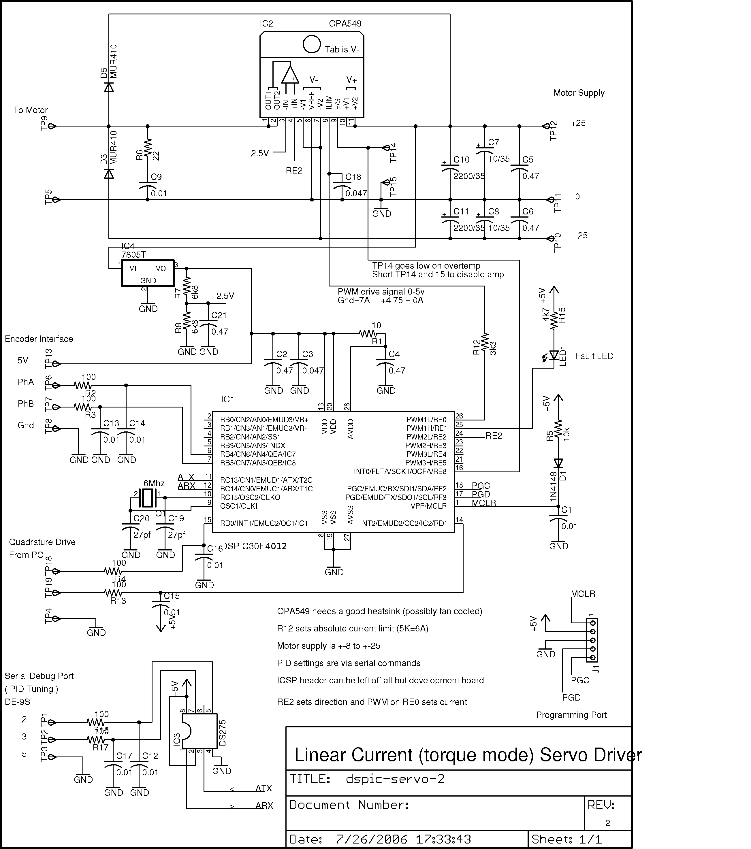 Servo Motor Circuit Page 2 Automation Circuits Diagram This Project Was Developed As An Inexpensive Way To Drive Small Dc Brushed Motors Positioning Servos For Use On A Desktop Sized Cnc Machine