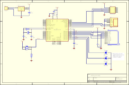 building a gps logger - schematic