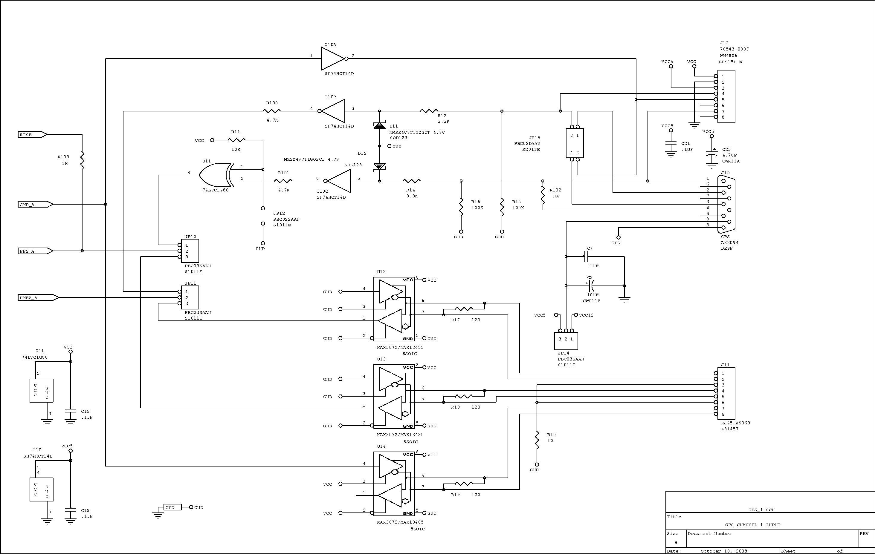 GPSmon - schematic