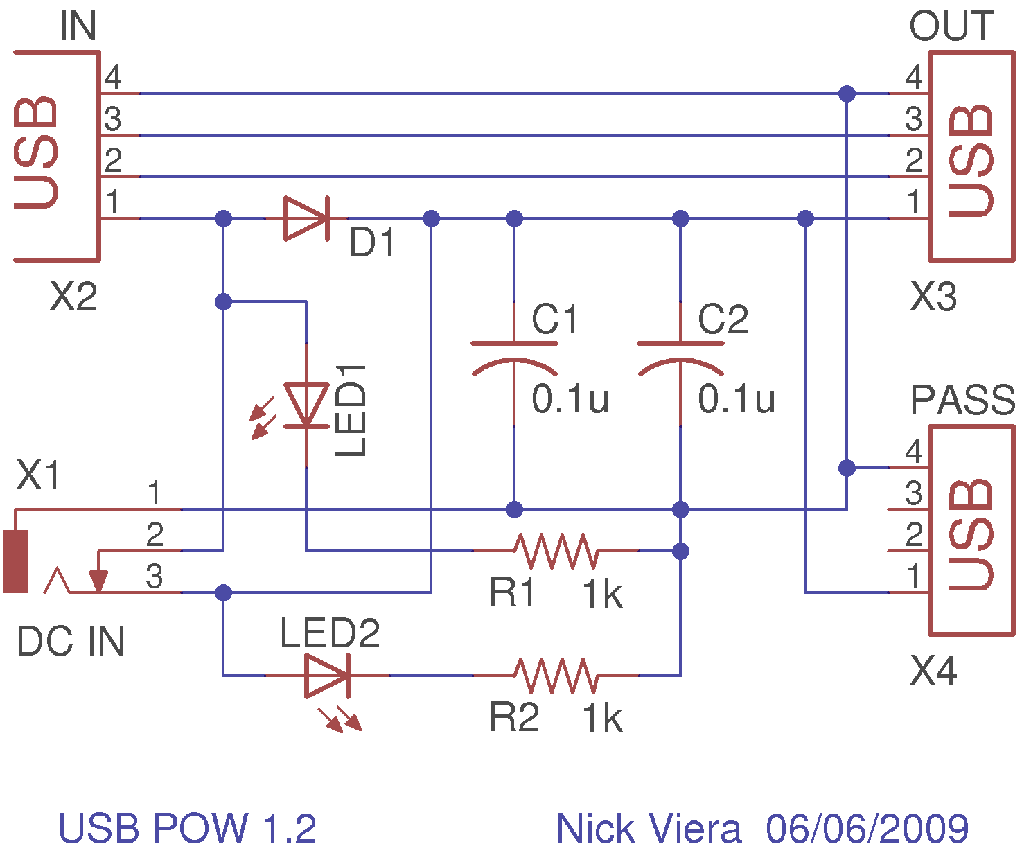 multi usb port circuit diagram diagram usb circuit page 3 computer circuits next gr