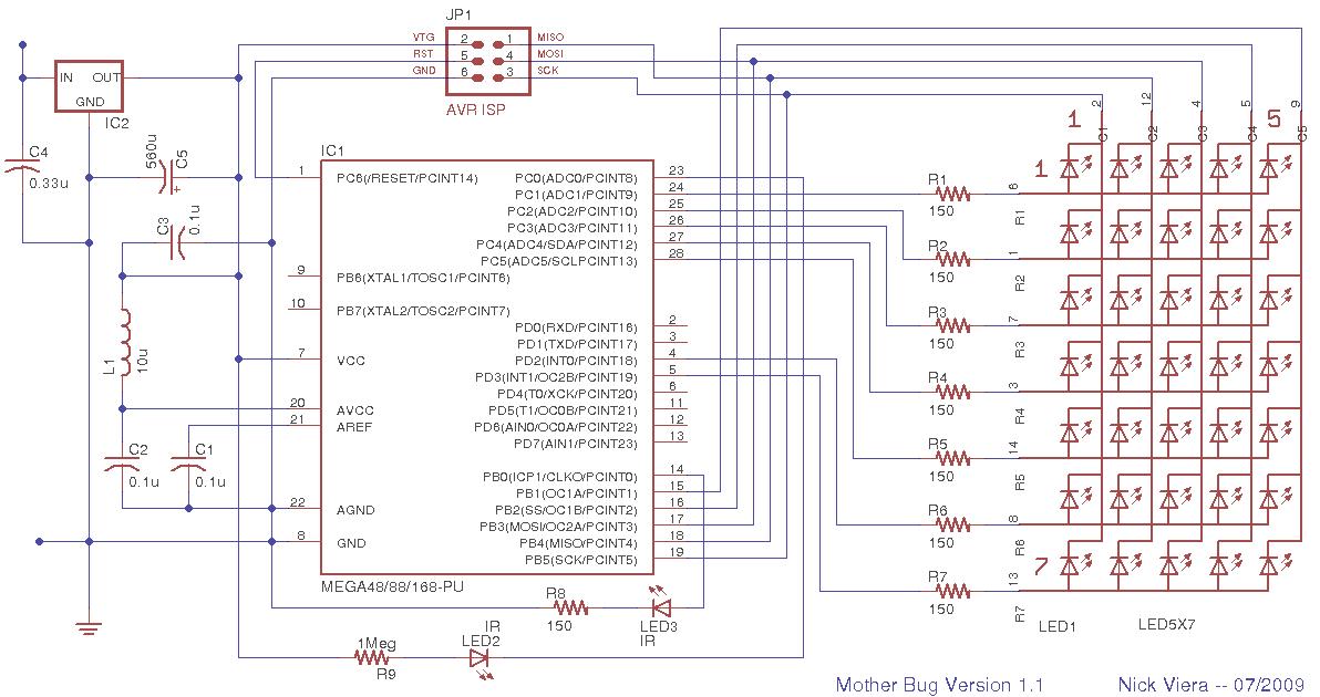 mother bug - schematic