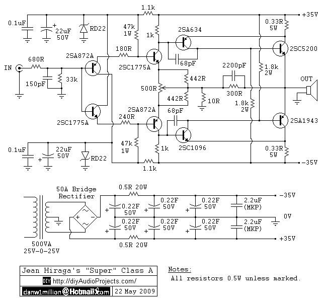 Super Class-A 30W Amplifier - img1
