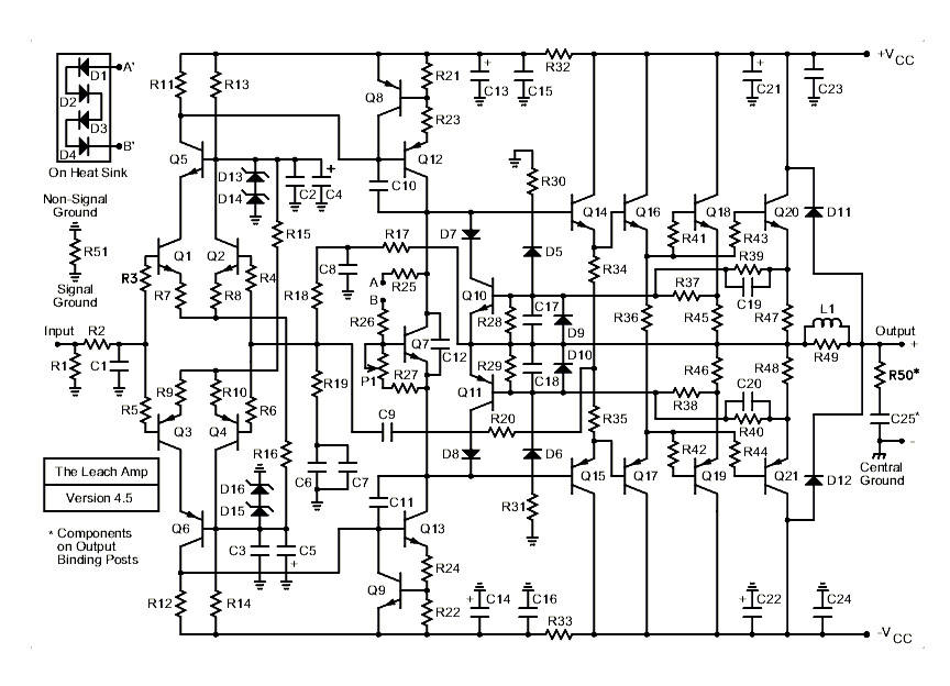leach amplifier under audio amplifier circuits