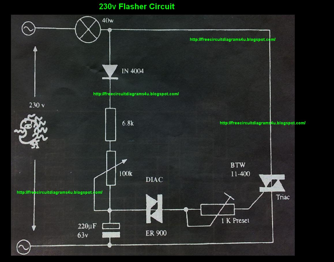 New Circuits Page 33 Rgb Led Controller Schematic Pyroelectro News Projects 230v Flasher Circuit Diagram