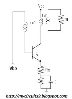 ASTABLE BLOCKING OSCILLATOR - schematic