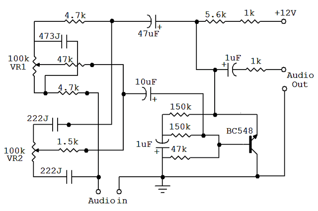 Equalizer Circuit Page 2 Audio Circuits Nextgr | Wiring ... on