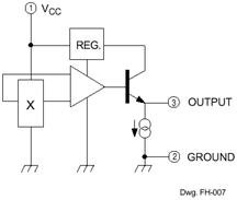 Hall Effect Sensors Magnetic Field - schematic