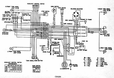 CB125S WIRING DIAGRAM - schematic