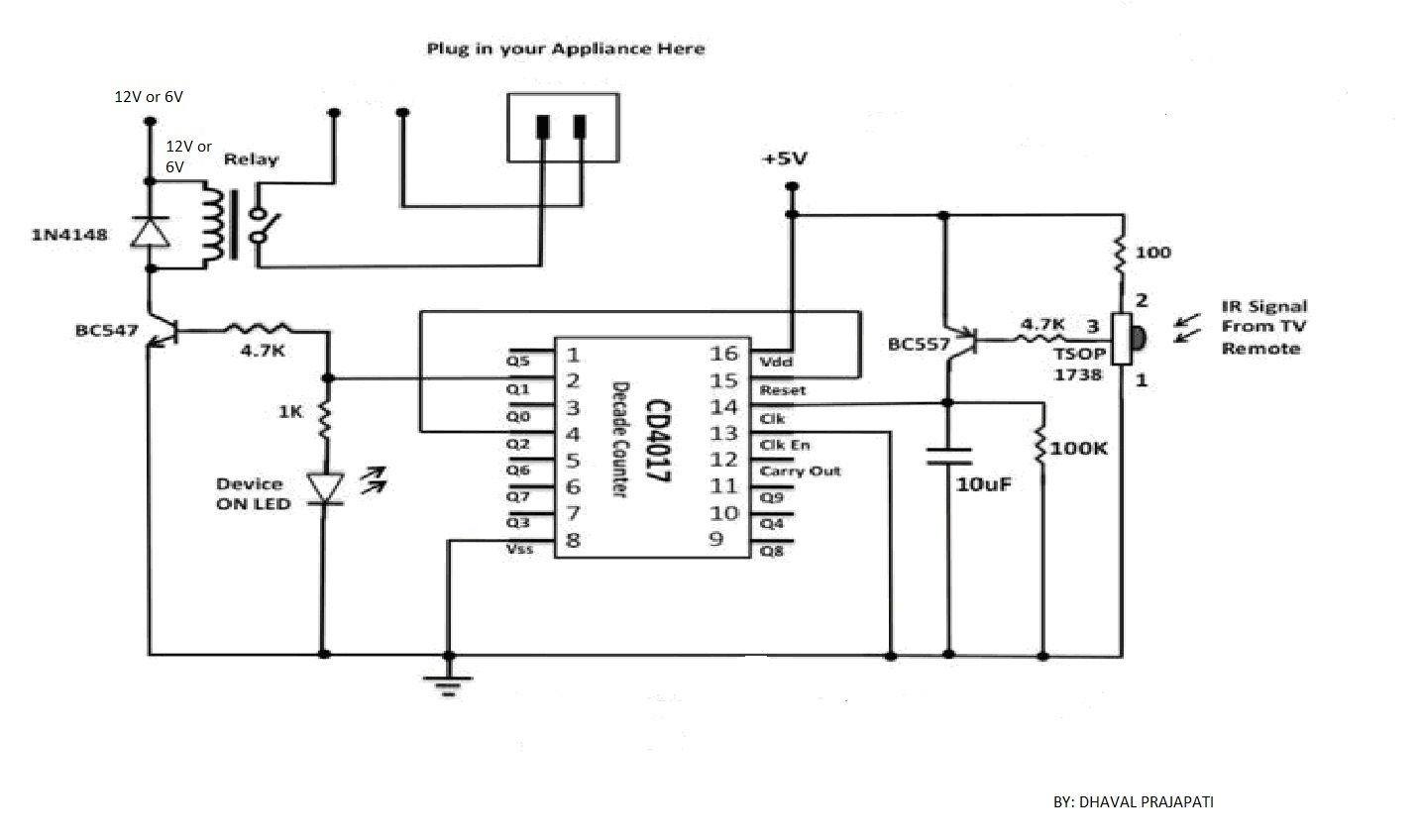 remote control circuit page 5   automation circuits    next gr