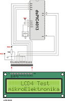 interface and program lcd to - schematic