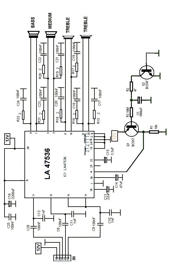 Car Audio Amp Schematic - Wiring Diagrams Plug