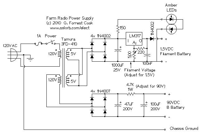 Power%2BSupply%2BAM%2BFarm%2dio  Pin Cb Microphone Wiring Diagram on
