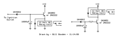 Time Delay Switch Schematic Off Time Delay Schematic