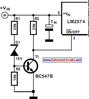 soft start for switching power supply - schematic