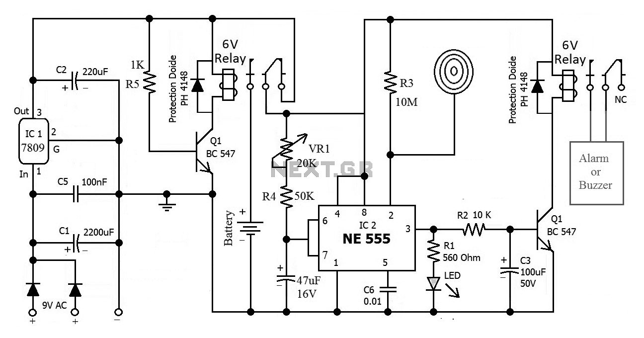 Results Page 12 About Lithium Ion Battery Searching Circuits At Pin Solar Tracker Circuit Lm339 4 On Pinterest 555 Timer Touch Activated Alarm
