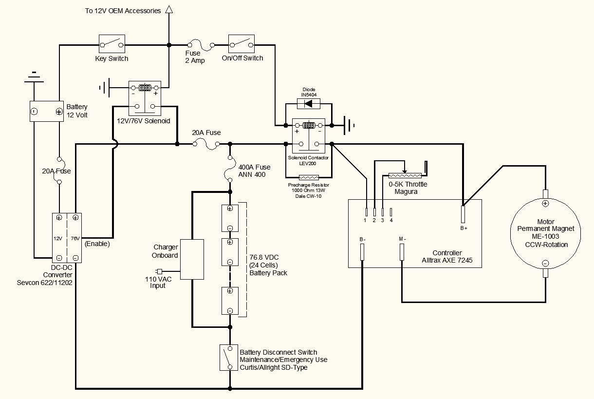 electric motorcycle wiring schematic under repository-circuits