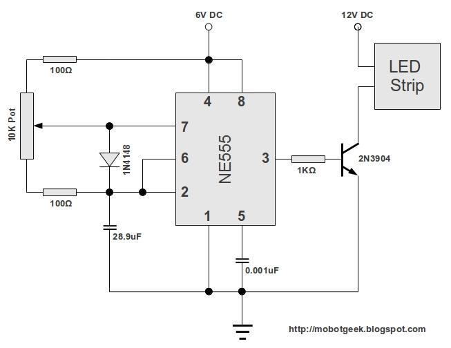 strobe light schematic 12v    strobe       light    circuit diagram circuit and schematics  12v    strobe       light    circuit diagram circuit and schematics