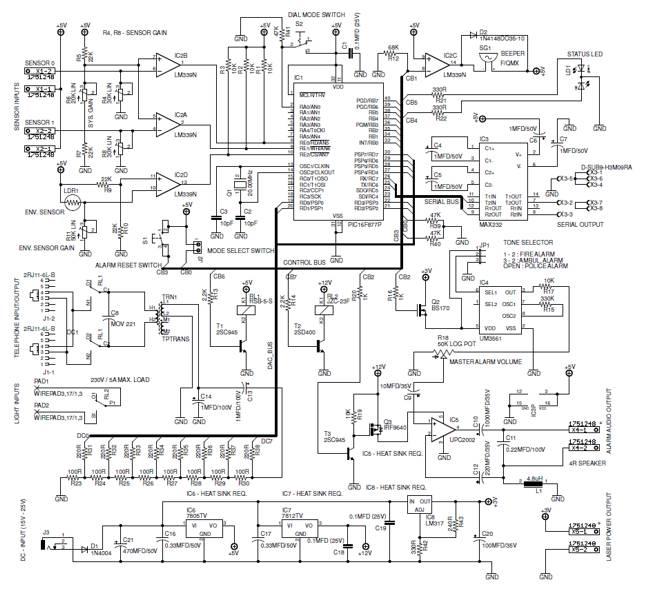 alarm circuit page 17   security circuits    next gr