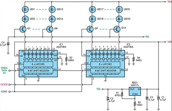 Constant Current LED Drive - schematic