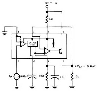 ic lm2917 frequency to voltage - schematic