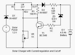 Solar cell circuit page 3 power supply circuits next solar battery charger circuit schematic swarovskicordoba Images