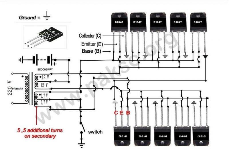 36 volt battery connection diagram