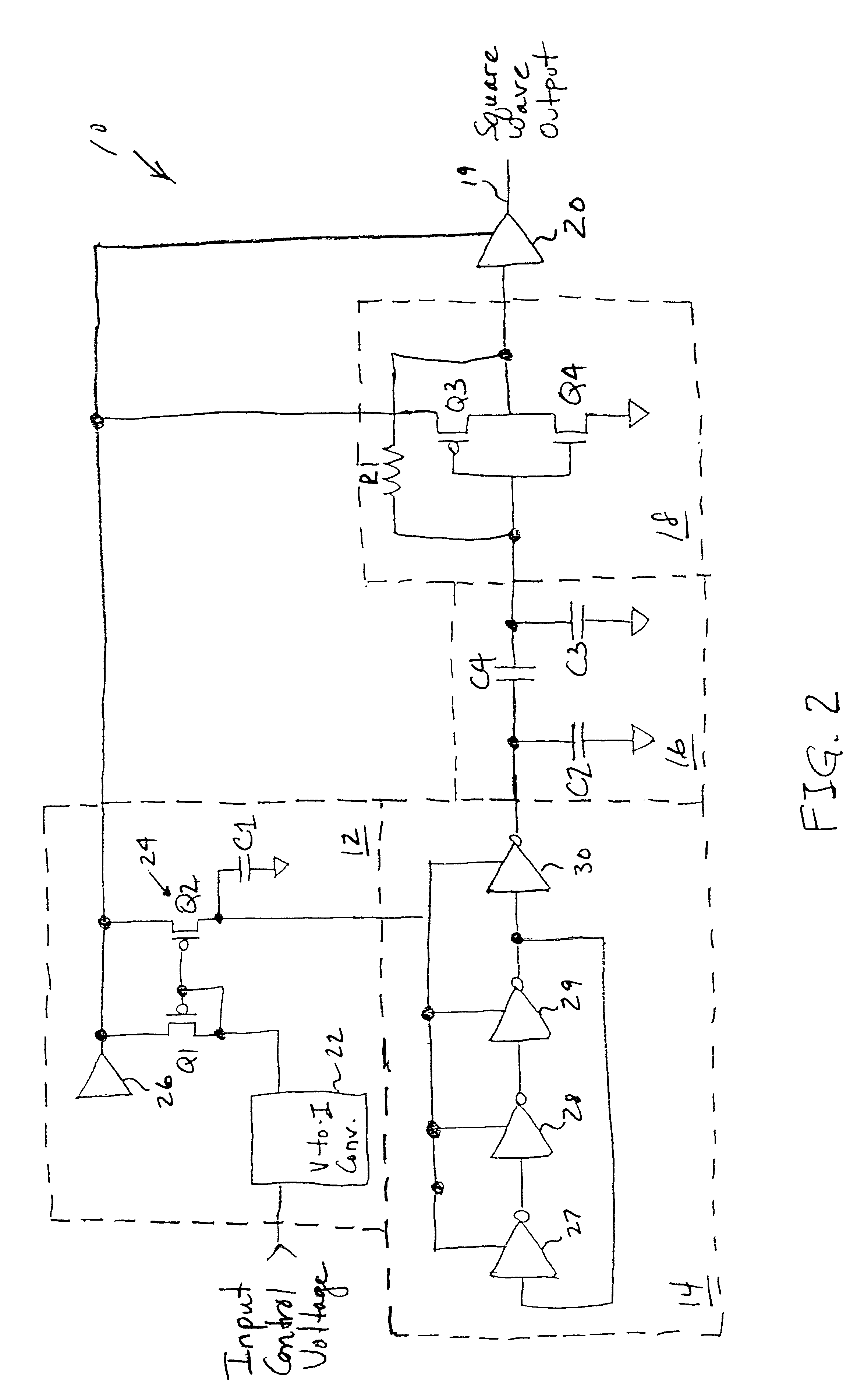 10 Hz To Khz Voltage Controlled Oscillator Circuit Auto To10volts Addaconvertercircuit Diagram Seekiccom Volt Control Page 3 Circuits Next Gr