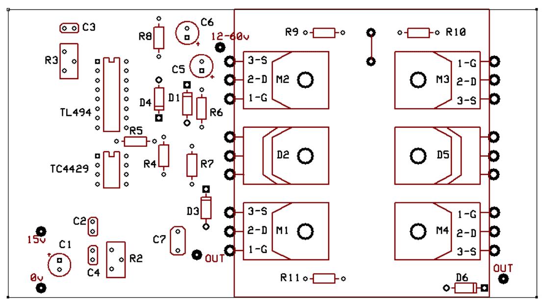 High Power Full Bridge Flyback Driver circuit - img2