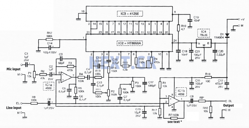 audio mixer circuit : Audio Circuits :: Next.gr on