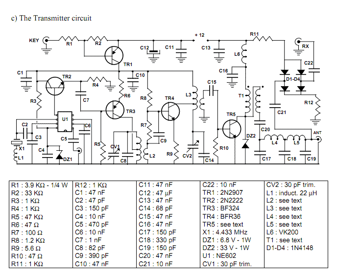 Transceiver for 20 m band - img1