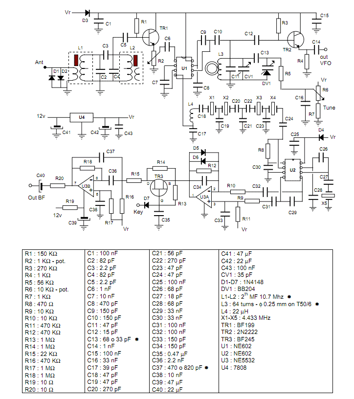 transceiver circuit : RF Circuits :: Next gr