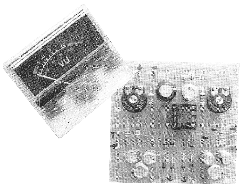 Precision Analog VU-meter Circuit - img1