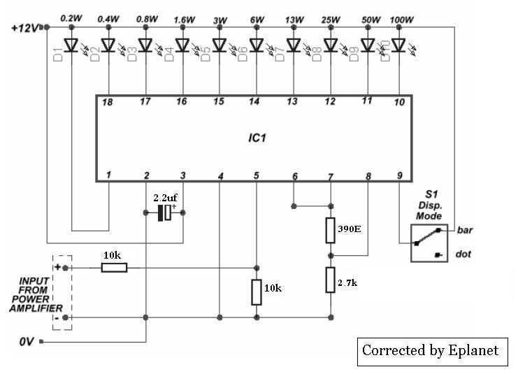 VU meter with LM3915 - img1