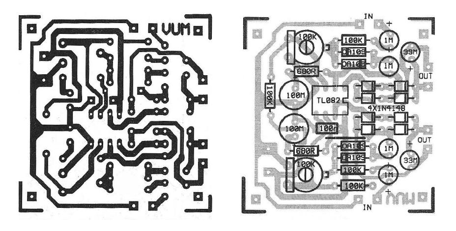 Precision Analog VU-meter Circuit - img2