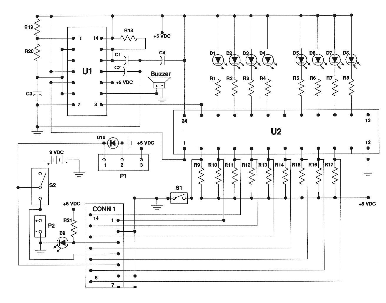 Beeper Buzzer Circuit Page 2 Audio Circuits Piezo Building A Competition Set Described The Construction Of Contest Additional Reference Material And Parts Are Available As