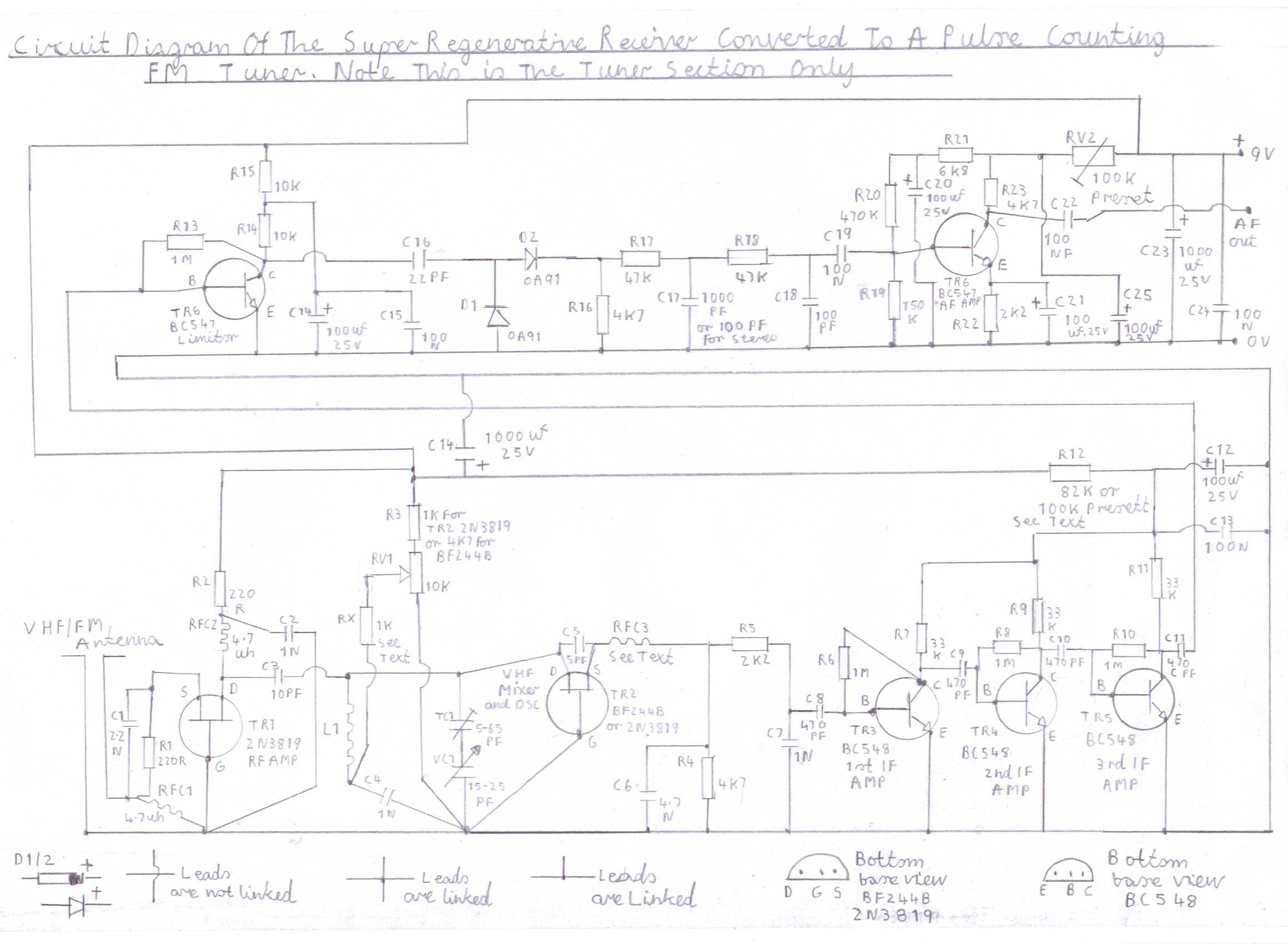 Receiver Circuit Page 5 Rf Circuits Mk484 Am Radio Design Electronic Project Progressive Crystal Set To Regenerative
