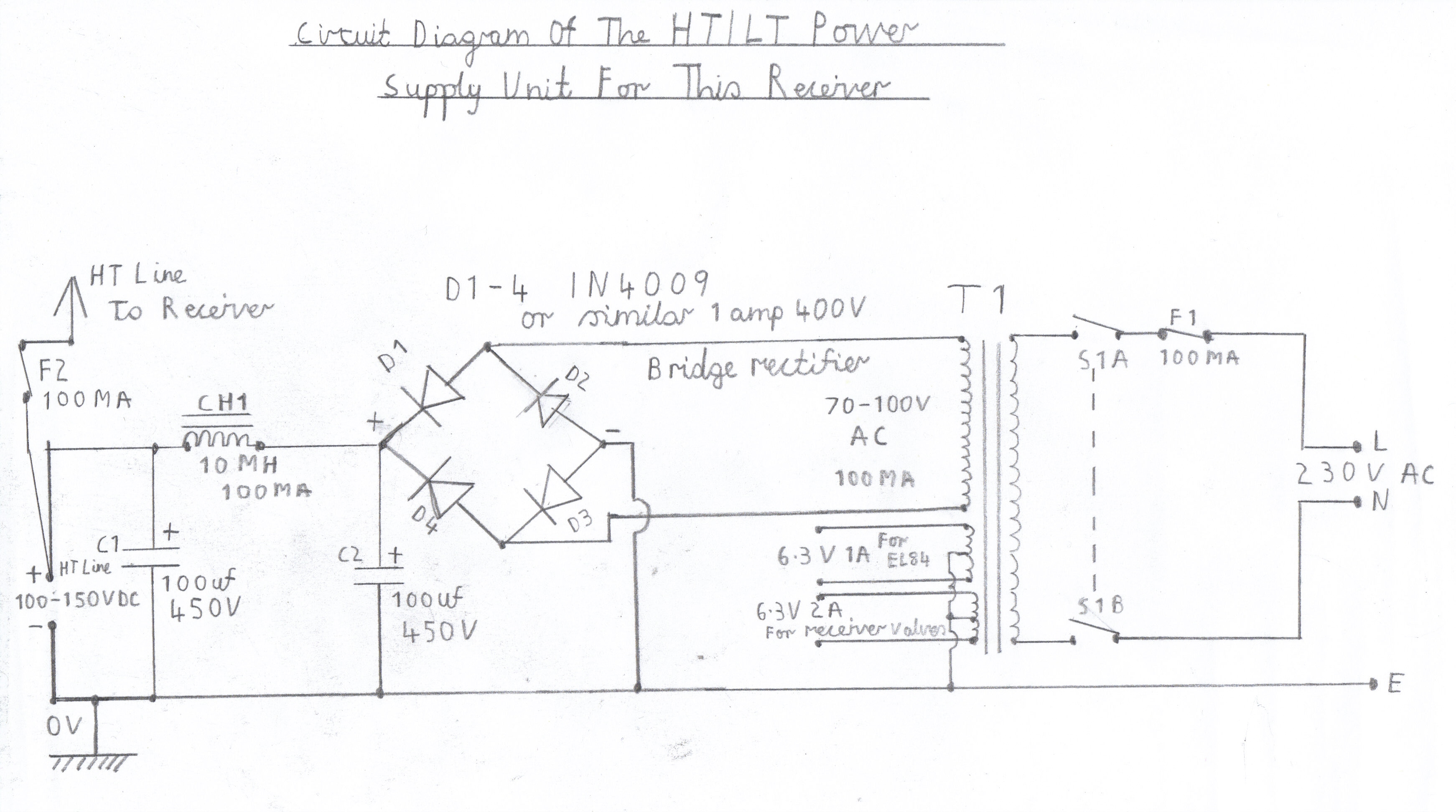 Electronic Circuits Page 149 6 Transistor Super Regen Receiver By Bc548 Severn Valve Hf Het