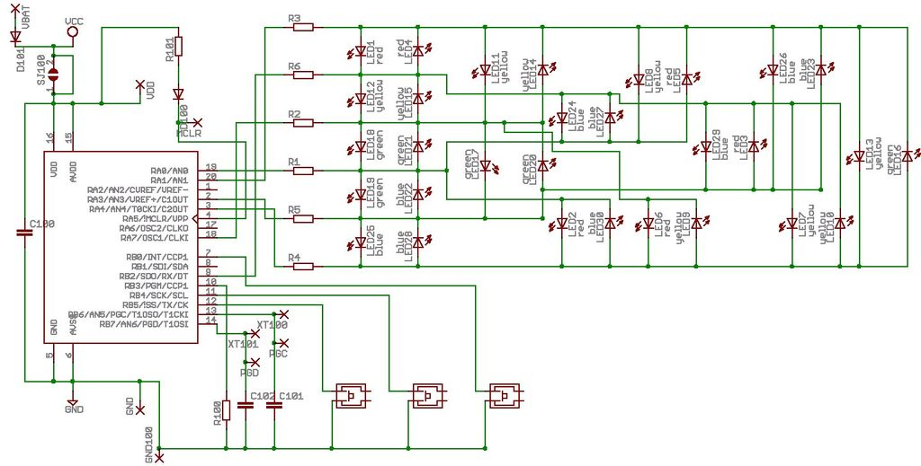Circuit Diagram Of Wrist Watch Diy Enthusiasts Wiring Diagrams