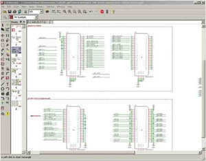 EAGLE PCB Layout Editor - schematic
