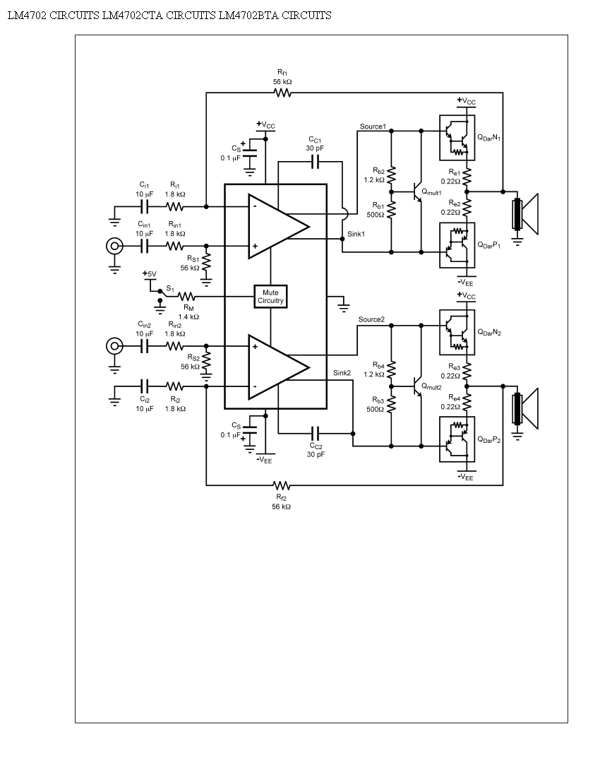 audio amplifier circuit page 7   audio circuits    next gr