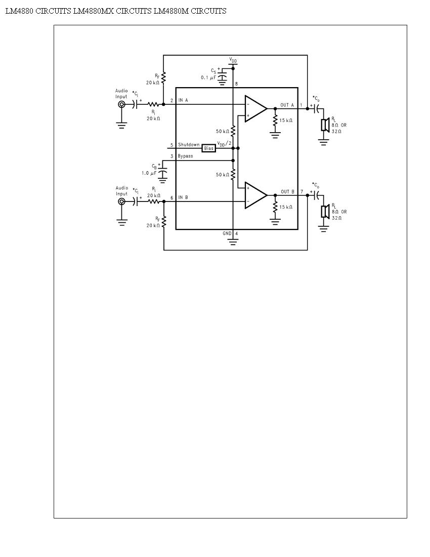 audio distortion meter circuit circuit diagram of audio