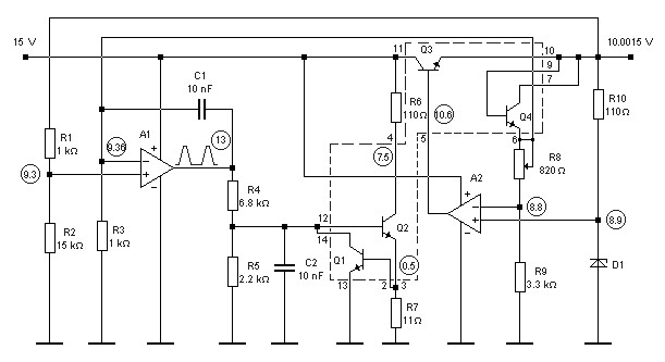 u0026gt  oscillators  u0026gt  varius circuits  u0026gt  s r flip flop l14509