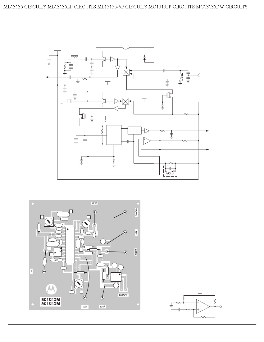 Receiver Circuit Page 4   Rf Circuits    Next Gr