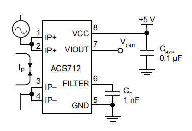 Arduino Based Current Sensor Circuit