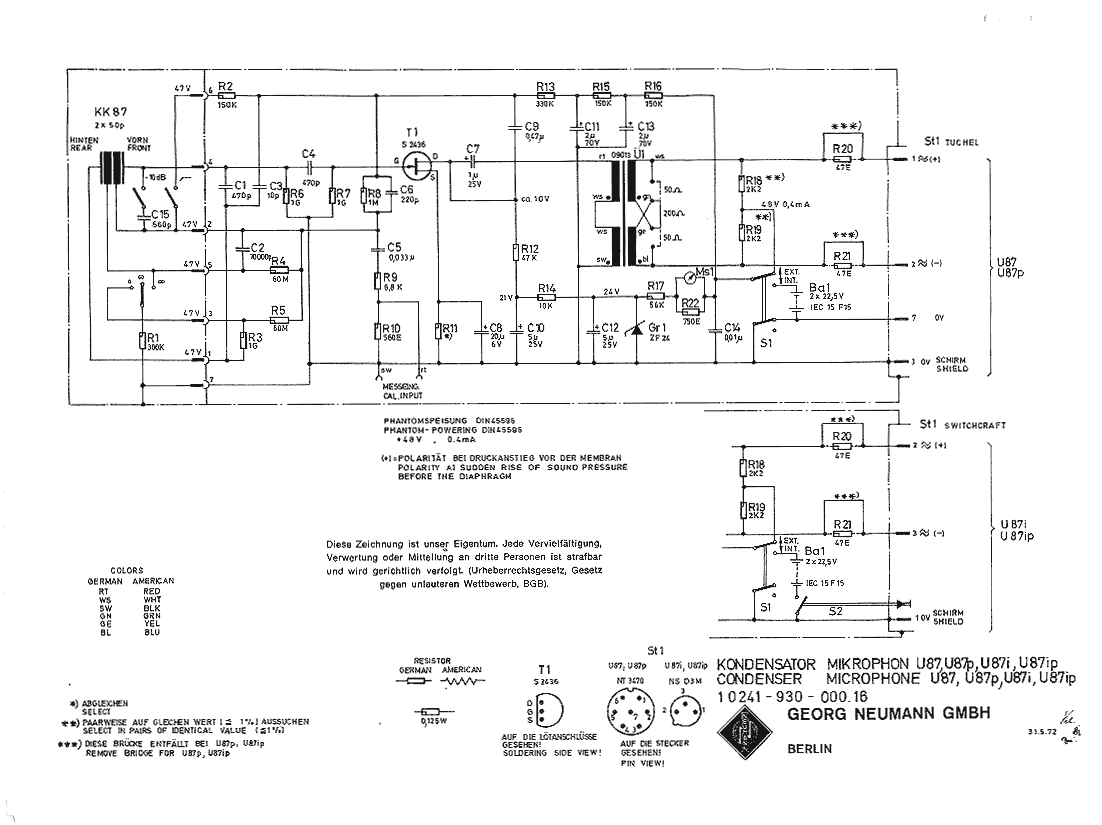 New Circuits Page 76 Noncontact Ac Voltage Detector Circuit Using Cd4060 Microphone Neumann U 87