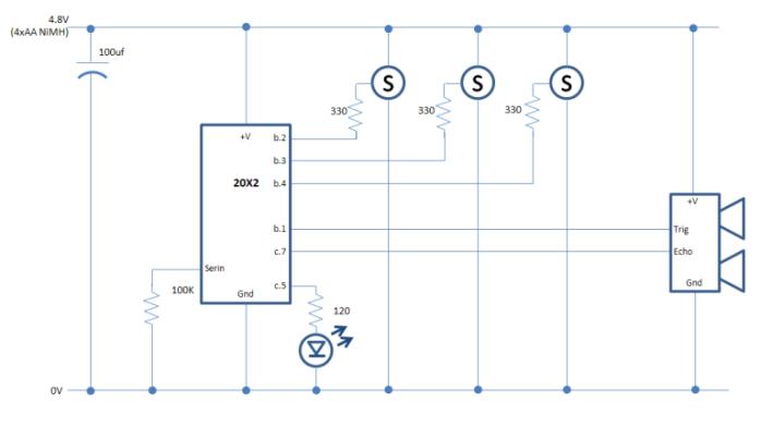 knexapod - schematic