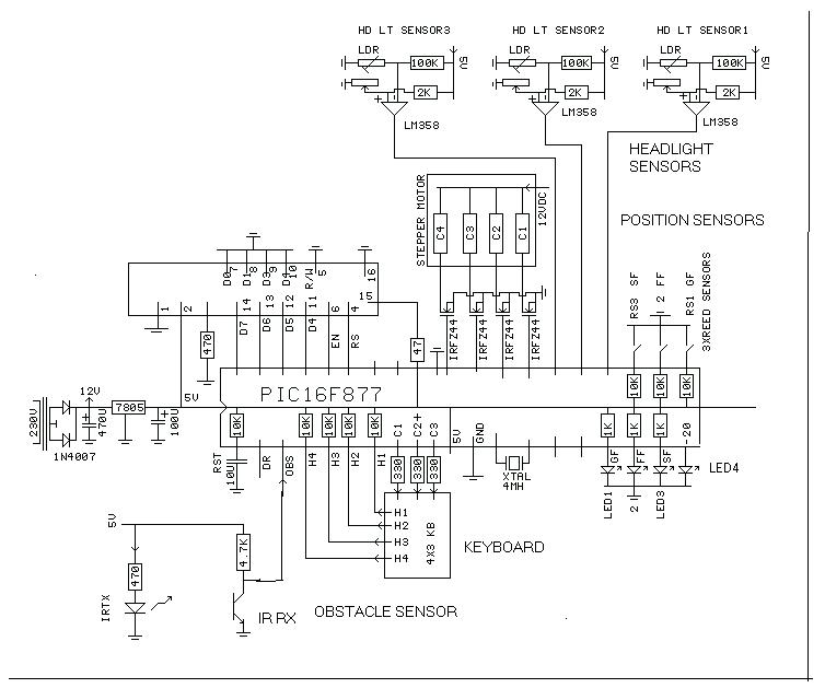 car parking circuit automotive circuits next gr