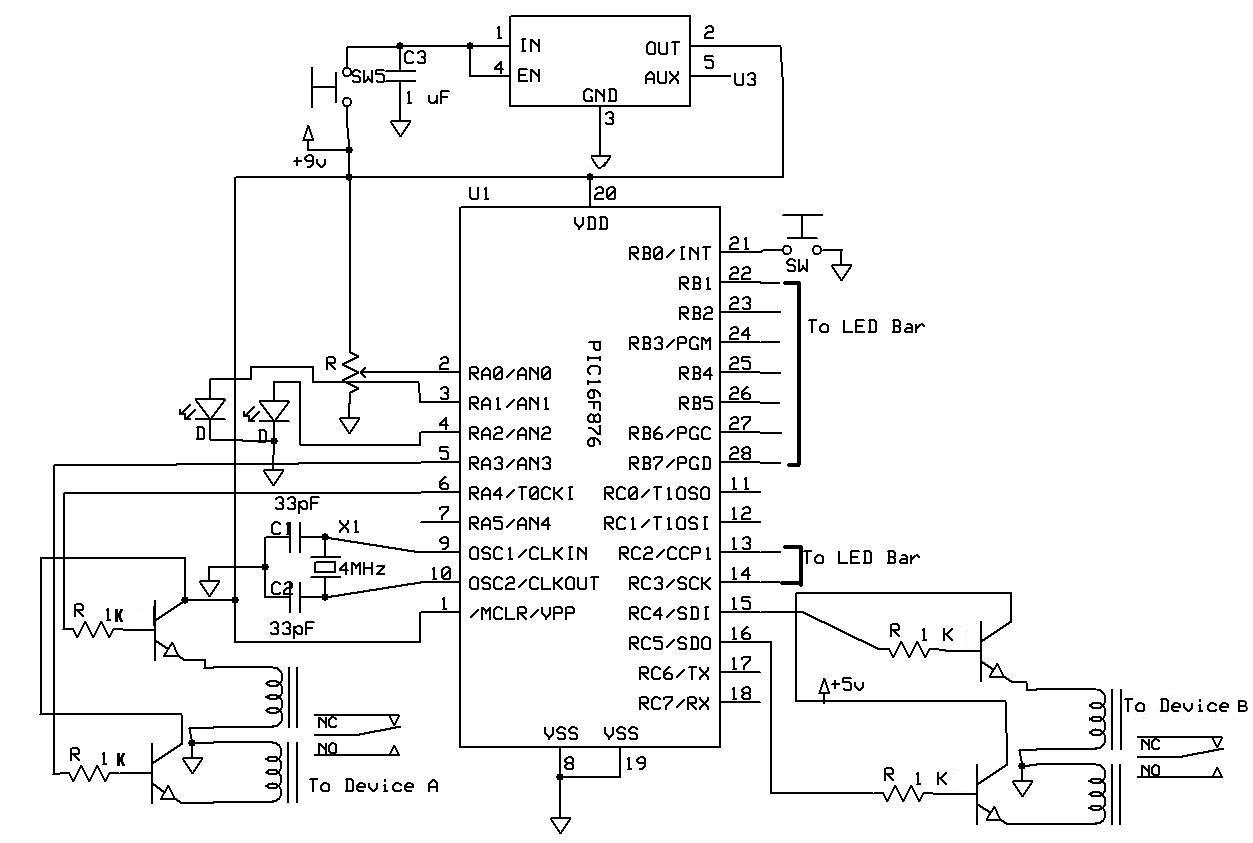 Relay Circuit Page 6 Automation Circuits Rangkaian 5 Pin Switch