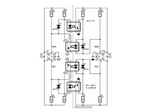 Electrical Isolation For I2C Bus